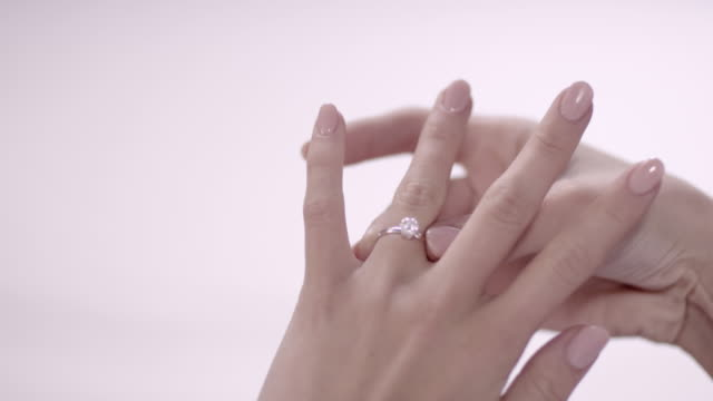 Woman with ring