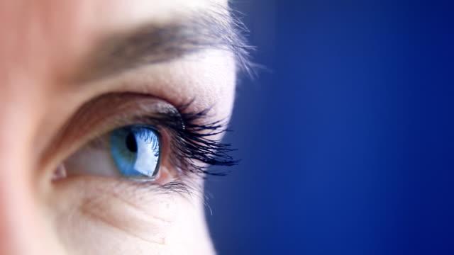 Woman's eye - macro