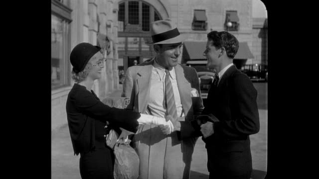 A woman's (Bette Davis) fiancé (Pat O'Brien) introduces her to a new friend (Junior Durkin)