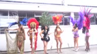 Women participate in the contest miss sympathy in the Buen Pastor jail Bogotá Colombia September 22 2017