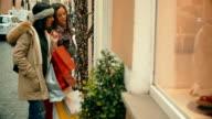 Women shopping at via Condotti in Rome