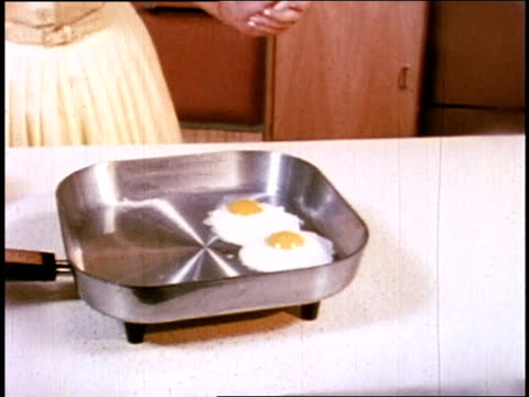 1966 MONTAGE women using electrical appliances