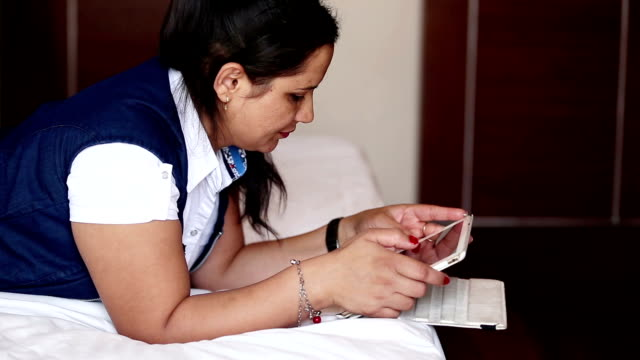 Women using ipad