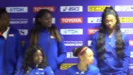 GB women win silver in 4 x 100m relay at the athletics World Championships Great Britain's Asha Philip Desiree Henry Dina AsherSmith and Daryll Neita...