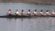 Women's 8-Person Rowing Team