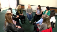 Women's counselling support group Therapy circle