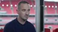 Women's England manager Mark Sampson is asked about allegations made by Eni Akulo He is asked if she dropped because she was critical of him as a...