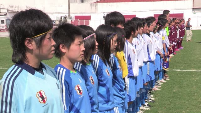 Women's football is growing in popularity in Japan especially following the country's victory in the women's World Cup last year Sao Paulo Brazil
