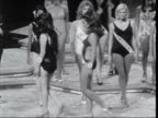 Women's liberation movement LIB INT Miss World competition with swim suit parade