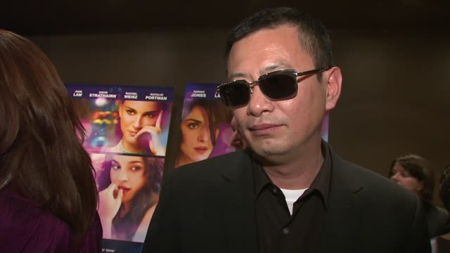 Wong Kar Wai on contacting Norah Jones on Ang Lee and working in the US at the 'My Blueberry Nights' Premiere at the Tribeca Grand Screening Room in...
