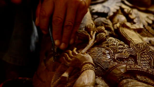 wood engravings, Thailand