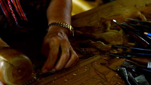 wood engravings, Thailand