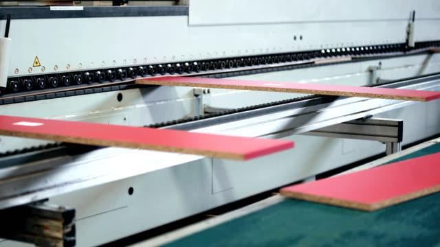 Wood processing line.