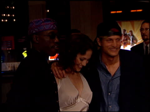 Woody Harrelson at the 'Money Train' Premiere on November 12 1995