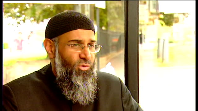 interview Anjem Choudary ENGLAND London INT Anjem Choudary interview SOT