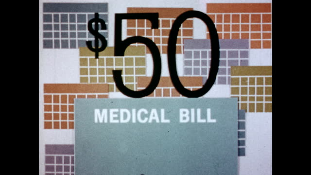 / '$50 MEDICAL BILL' words appear on the screen / narrator explains Medicare coverage while graphics appear on the screen Explanation of Medicare and...