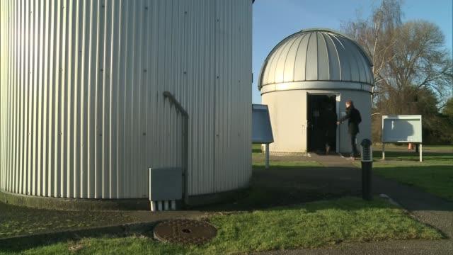 Work by scientists in Hertfordshire attracts interest of NASA ENGLAND Hertfordshire Bayfordbury Observatory INT Telescope at Bayfordbury Observatory...