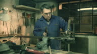 HD DOLLY: Worker Welding In Workshop