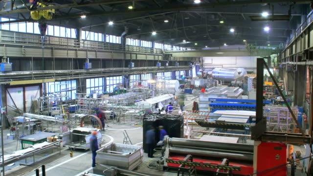 Operai di fabbrica, Time Lapse