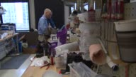 Workers Making A Prosthetic In Lab on August 15 2013 in Chicago Illinois