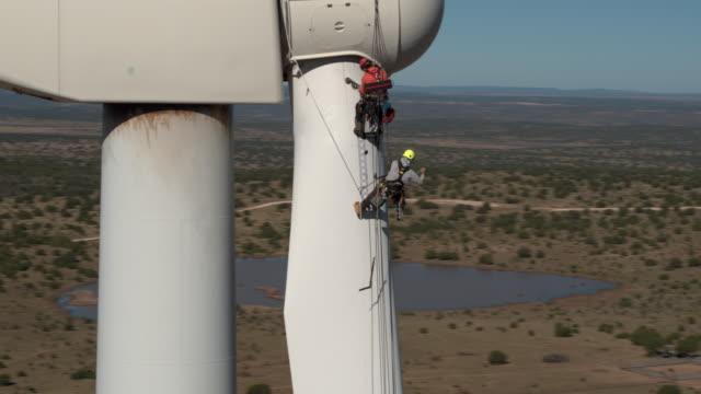 Workers on Turbine