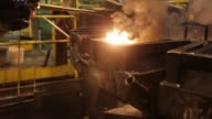Workers remove shaped and cooled silver bullion bars from moulds at the KHGM Polska Miedz SA smelting plant in Glogow Poland on Monday March 23 2015