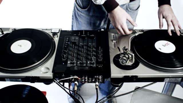 DJ-Arbeitsbereich
