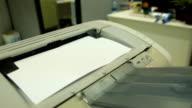 Working laser printer