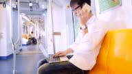 Arbeiten im Zug