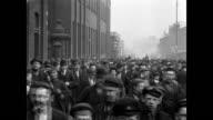1900 - Workmen leaving Platt's Works