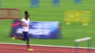 Athletes hit by vomiting bug London PAN Dina AsherSmith along in training on race track