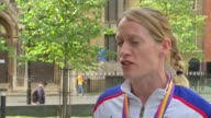 Great Britain win two more relay medals London Eilidh Doyle interview SOT