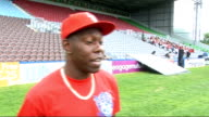 Dizzee Rascal and James Corden record 'Shout For England' World Cup song Dizzee Rascal interview continues SOT On plans to watch the World Cup...