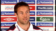 England press conference ahead of match against Belarus On whether there is enough strength and depth in the England defence now that Ashley Cole is...
