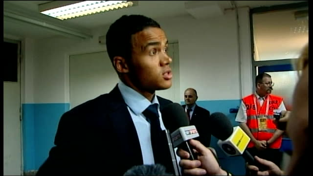 Croatia v England postmatch interviews Jermaine Jenas interview SOT Team worked hard in firsthalf / Not an easy place to come and get result / Took...