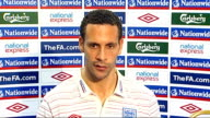 Rio Ferdinand press conference Ferdinand press conference SOT Talks about importance of Wayne Rooney especially with number of injuriies to forwards...