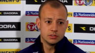 Scotland Alan Hutton press conference Hutton press conference SOT Will have to attack against Iceland and play to our strengths / Against Holland it...