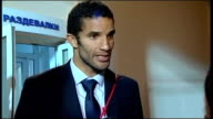 England v Belarus Post match interviews David James interview SOT Good result against a decent side / On England manager Fabio Capello / On playing...