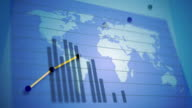 World Economy and Stock Market Graphics