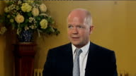 World financial markets continue to tumble William Hague reaction ENGLAND Kent Sevenoaks what can UK do to restore confidence William Hague MP...