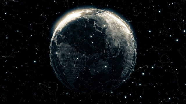 World from a Particle Vortex