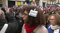 World leaders link arms at the head of a march in defiance of the terrorists who brought three days of fear to France's capital Around a million...