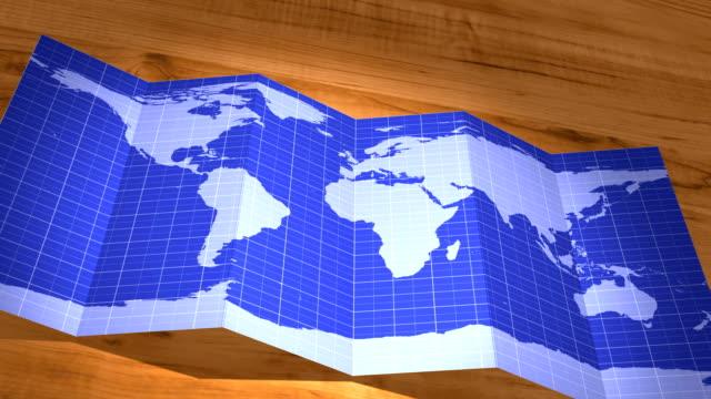 Mappa del mondo collegamenti