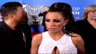 Celebrity red carpet arrivals and interviews / Winners room interviews Jordan and Andre interview on red carpet SOT On Pete being a big fan of...