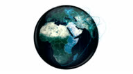 World network loop with luma matte