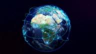 Welt-Netzwerk.