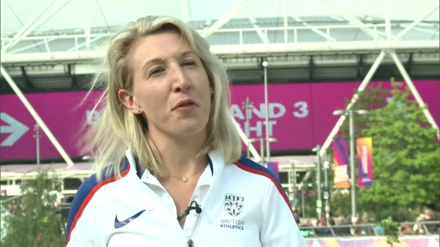 Georgie Hermitage interview / highlights Georgie Hermitage interview SOT