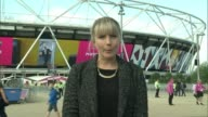 Georgie Hermitage interview / highlights Reporter to camera