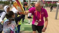 World Para Athletics championships success in London T18071710 / London Stratford London Stadium EXT **GreyThompson STUDIO interview overlaid SOT**...