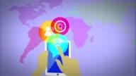 world tablet Social Network media marketing